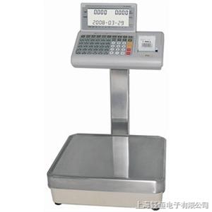 带打印不干胶电子称/60公斤电子秤可接打印机/可接电脑USB