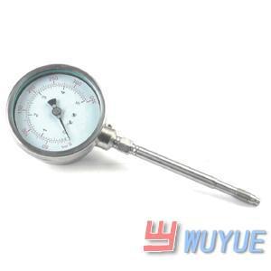 高温熔体压力传感器、高温熔体压力变送器大量求购挤出机现场指示压力表PT160-40MPA