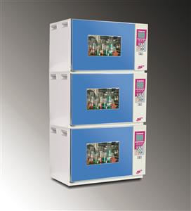 HNY-110B叠加式小容量恒温培养摇床,三层组合式恒温培养振荡器,福建三层叠加式摇床供应商