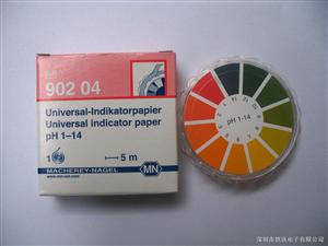 水质测试,德国MN水质测试试纸,PH 1-14水质快速测试试纸