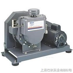 美国威尔奇真空泵|1402皮带式旋片泵