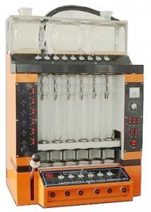 泉州粗纤维测定仪SLQ-6报价,粗纤维含量测定仪器现货,上海纤检粗纤维测定仪厂家
