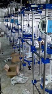 防爆玻璃反应釜厂家,防腐蚀玻璃反应釜报价,单层防爆防腐蚀玻璃反应釜性能