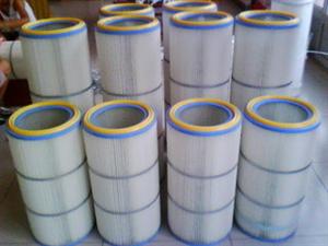 中央焊接烟尘除尘器滤筒 覆膜除尘滤筒