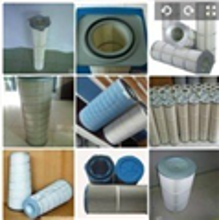制药厂焊接烟尘3266覆膜除尘滤芯粉末回收滤筒
